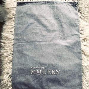 Alexander McQueen - dust bag